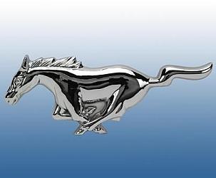 Mustang grille embleem